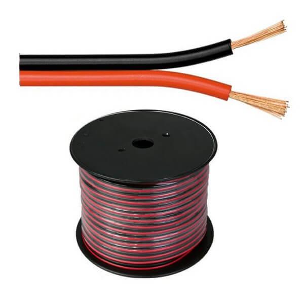 Instalație electrică prevăzută cu cabluri pentru boxe