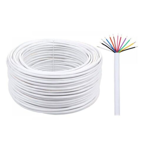 Instalație electrică prevăzută cu cabluri pentru telefon