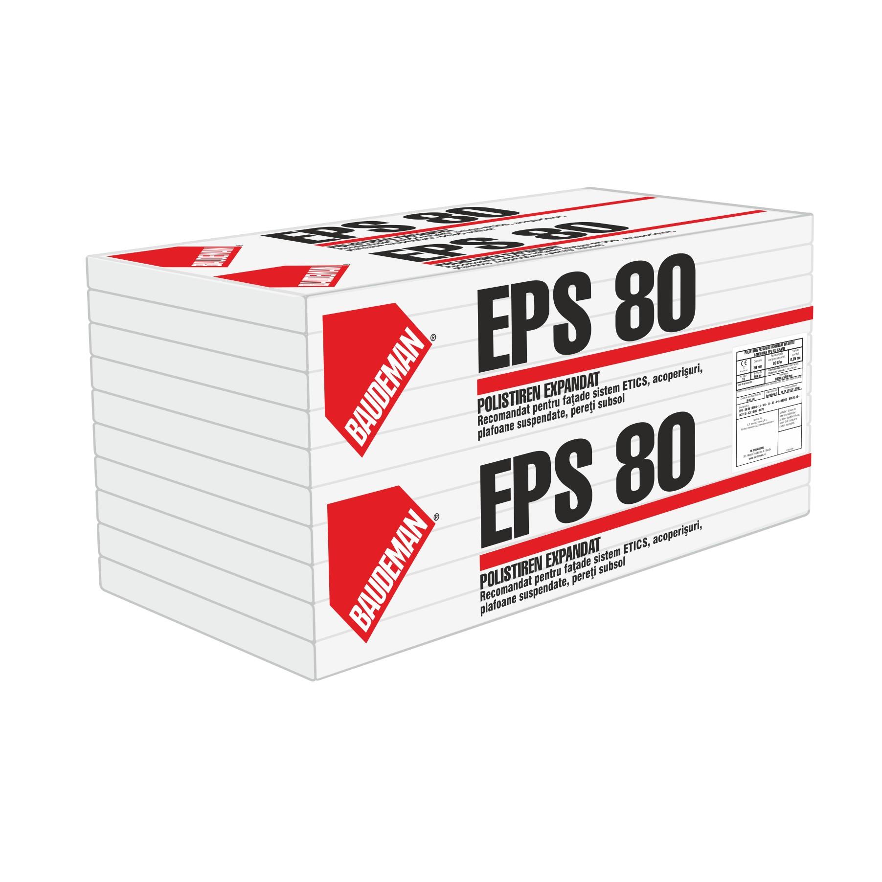 Izolație exterioară polistiren expandat (EPS)