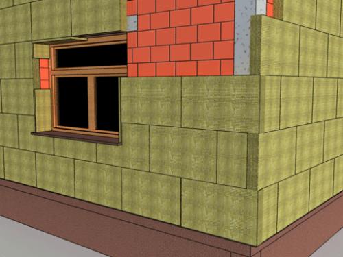 Izolație pereți exteriori de peste 15cm