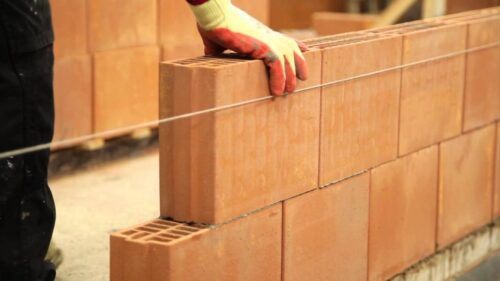 Pereți interiori din cărămidă
