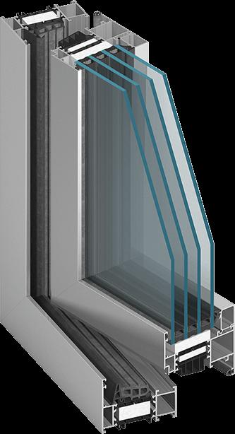 Profil ferestre marca Aluprof