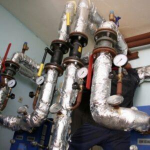 Sistem integrat de climatizare - centrală de cartier