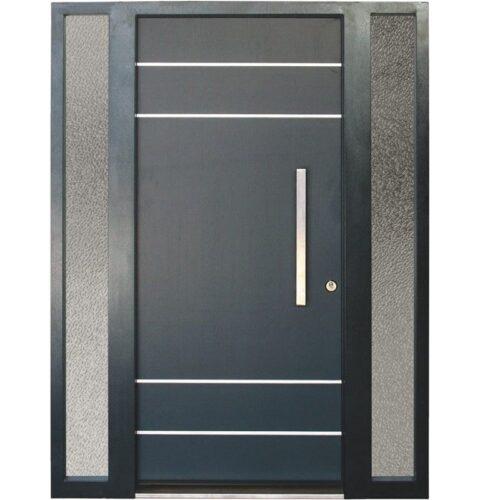 Ușă principală metalică