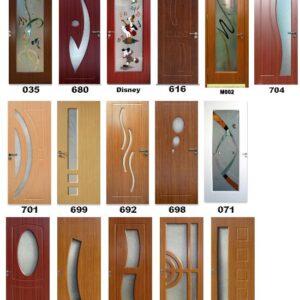 Uși de interior din MDF