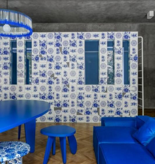 Apartament inedit cu o notă rusească
