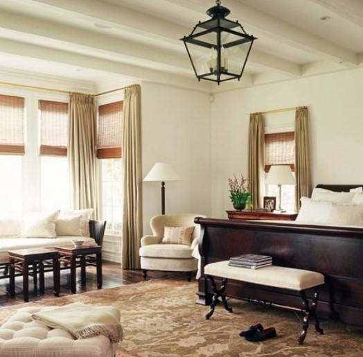 Interioare tradiționale elegante, cu elemente organice