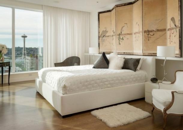 Apartamentul alb uimitor