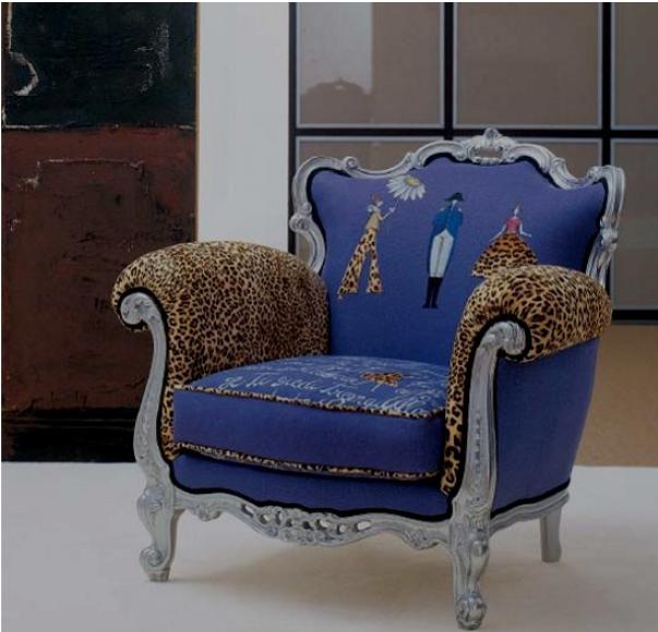 Modele moderne de scaune baroce