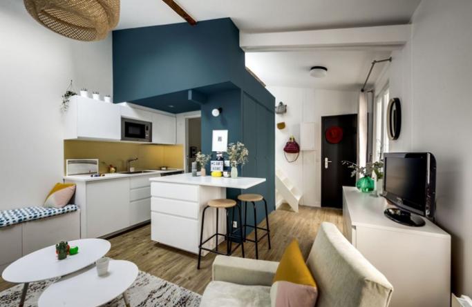 Un apartament de tip studio confortabil